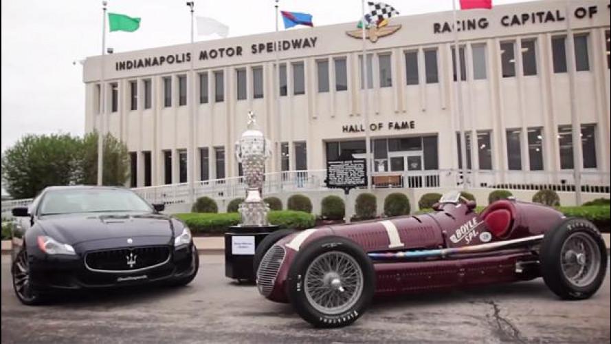 Maserati, il Coast to Coast della nuova Quattroporte [VIDEO]