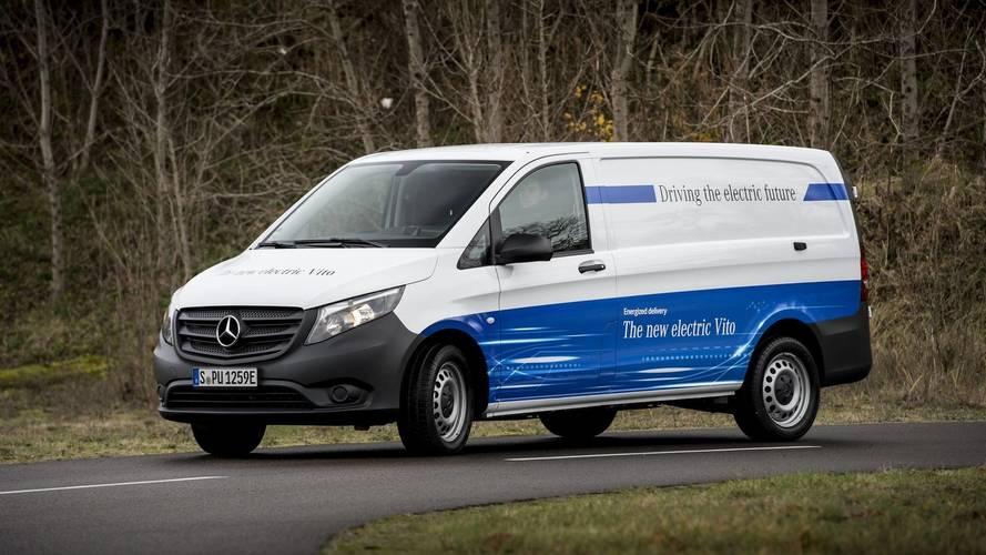 Mercedes, yeni elektrikli bir minibüs serisi sunacak
