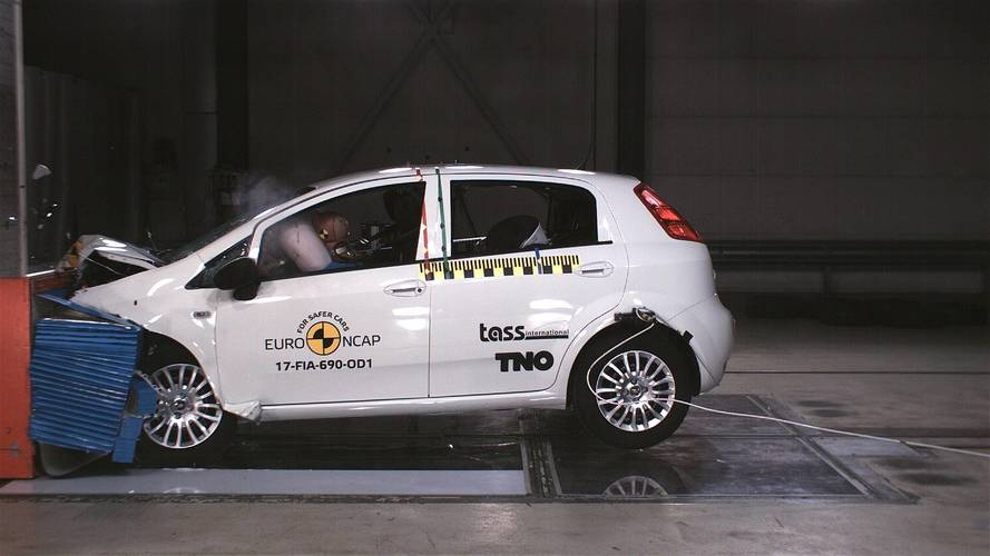 Fiat Punto scores first-ever zero-star NCAP safety rating