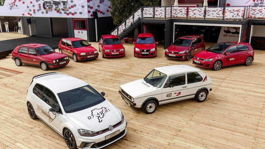 Egy ikon fejlődése: animáción a VW Golf családfája
