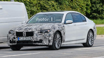 BMW 7 Series Refresh Spy Photos