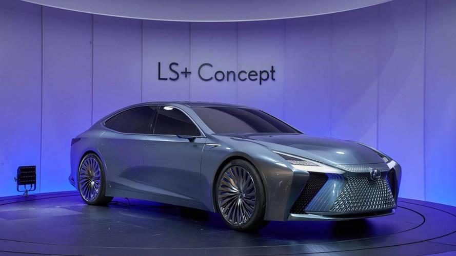 Lexus LS + Concept aposta em futuro com atualizações como no smartphone