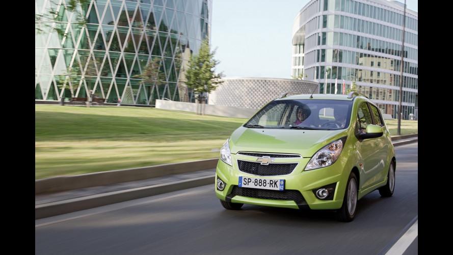 Chevrolet: +8,5% nelle vendite europee 2011