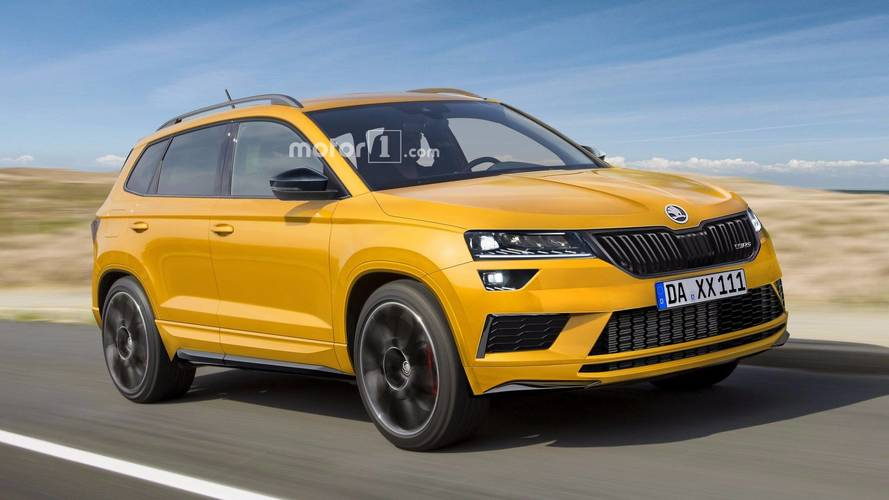 Our Idea Of A Skoda Karoq RS Hot Crossover