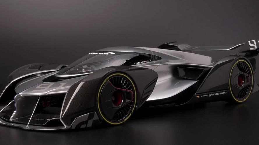 McLaren Ultimate Vision GT Méretarányos modell
