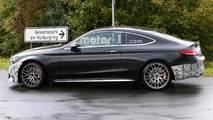 Mercedes-AMG C63 Coupe Refresh Spy Shot