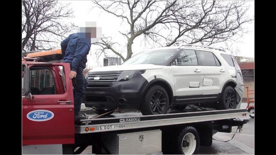 Erwischt: Hier zeigt sich der neue Ford Explorer