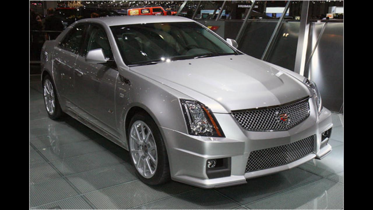 Cadillac CTS-V: Der Cadillac CTS-V besitzt einen 550 PS starken V8-Motor