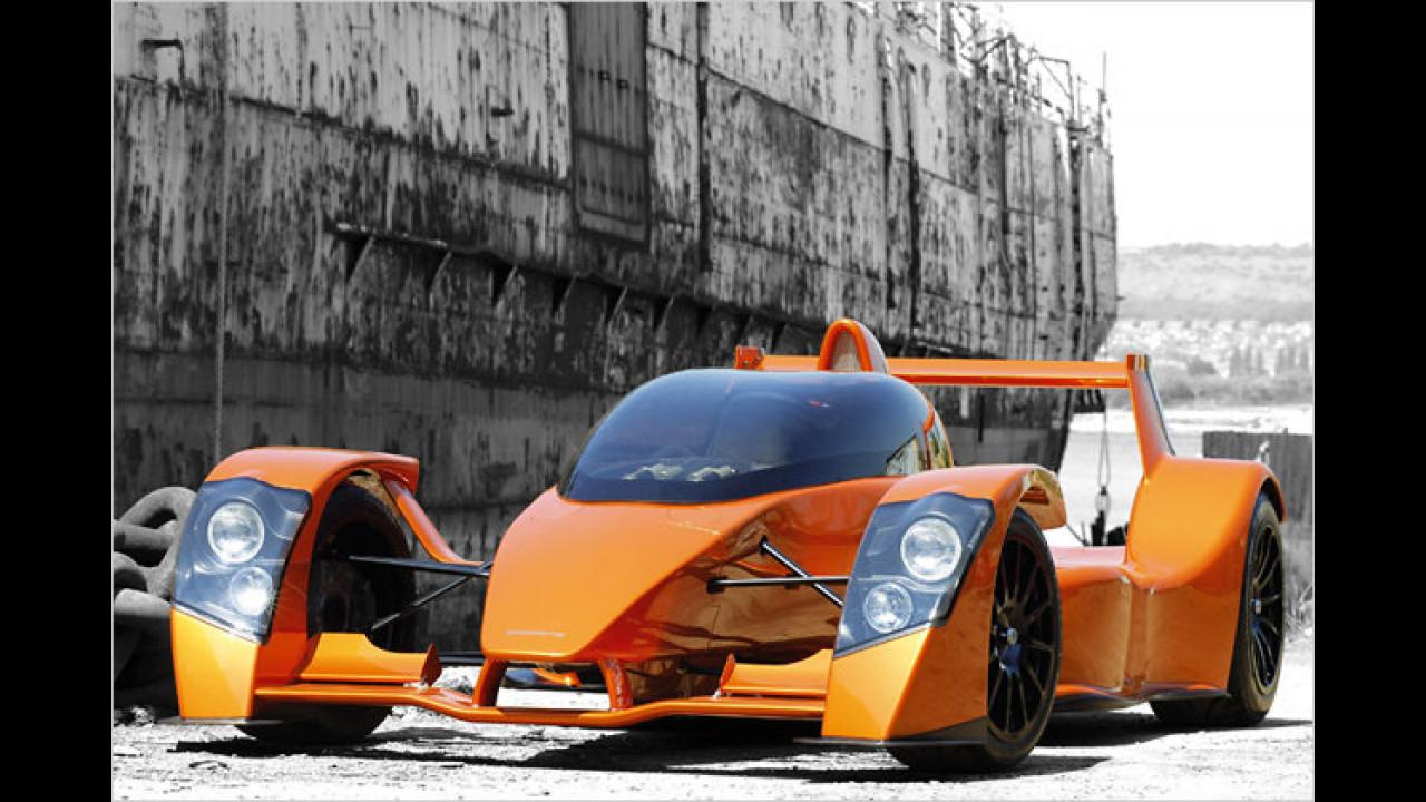 Schnellste Beschleunigung 0-100 km/h: Caparo T1