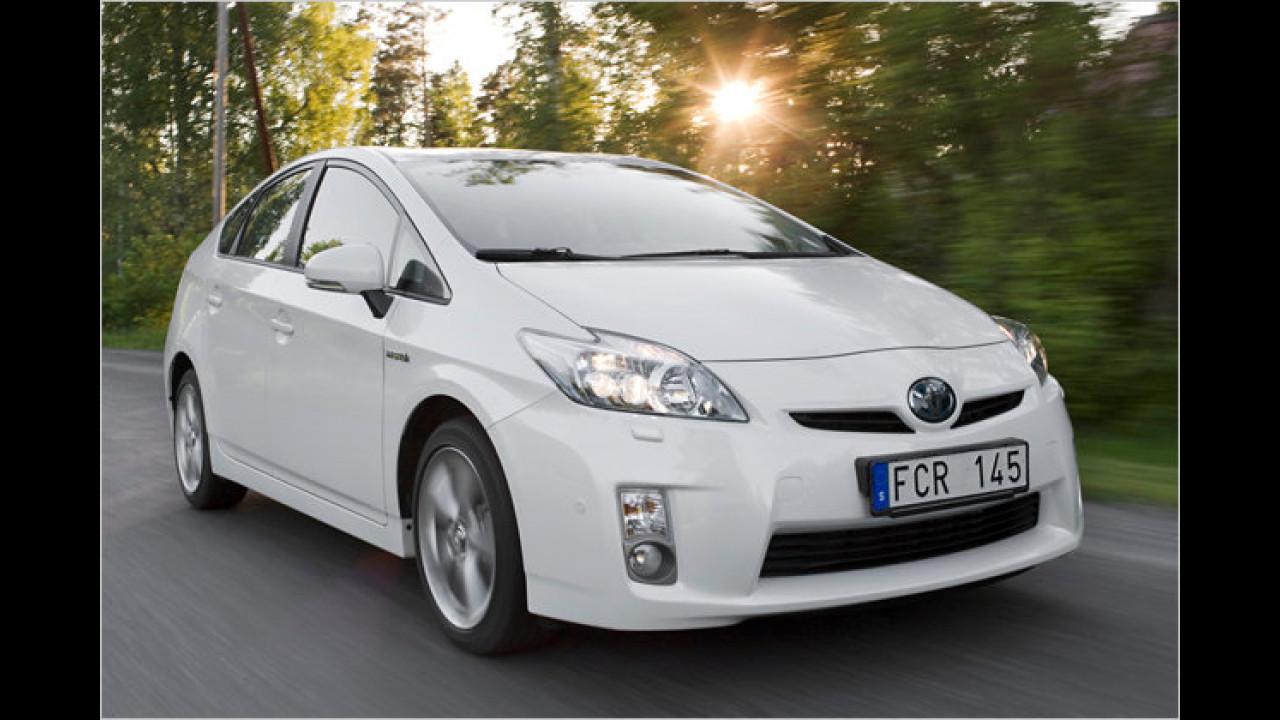 Umweltfreundlicher Motor des Jahres<br><br>Hybridantrieb mit 1,8-Liter-Benziner von Toyota