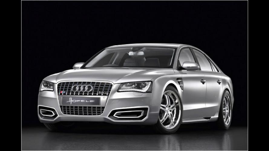 Neuer Audi A8: Frisches Styling von Hofele-Design