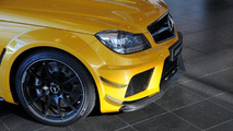 Solarbeam Mercedes-Benz C63 AMG Coupe Black Series - 16.11.2011