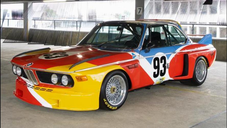 BMW celebra i 40 anni della sua Art Car Collection