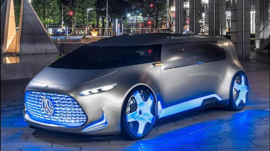 Mercedes Vision Tokyo, così si muoverà la