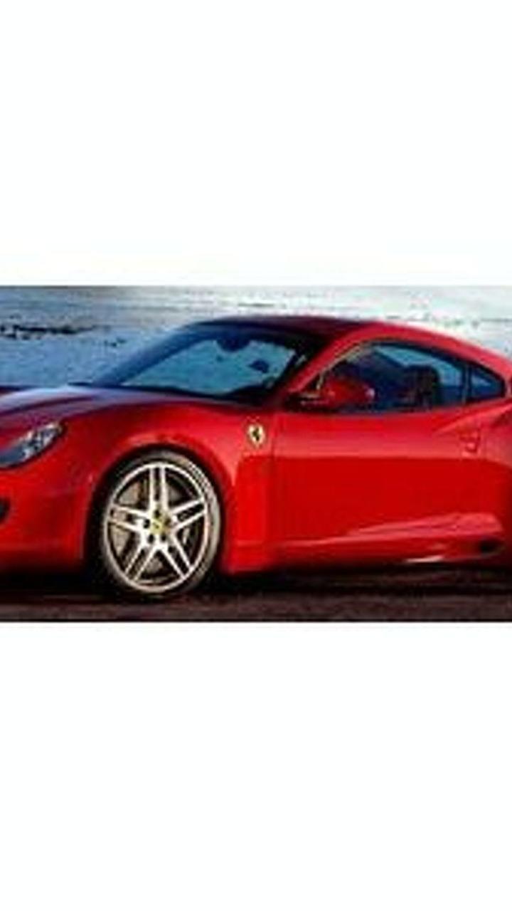 Mattel Ferrari Dino red scale model