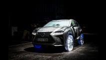 Gomme invernali? Lexus inventa quelle di ghiaccio [VIDEO]