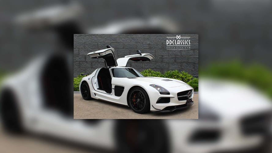 Bu Mercedes SLS AMG Black Series'in fiyatı 400,000 pound!