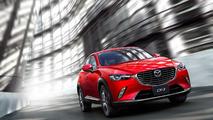 Mazda CX-3 rojo
