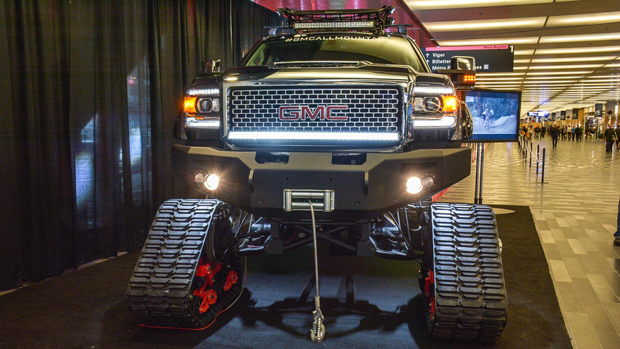 GMC All Mountain Sierra HD 2.0 - Montreal live
