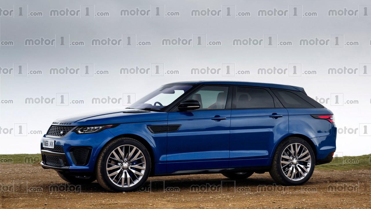 Range Rover Sport Coupe tasarım yorumu