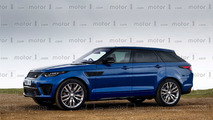 Range Rover Sport Coupe render