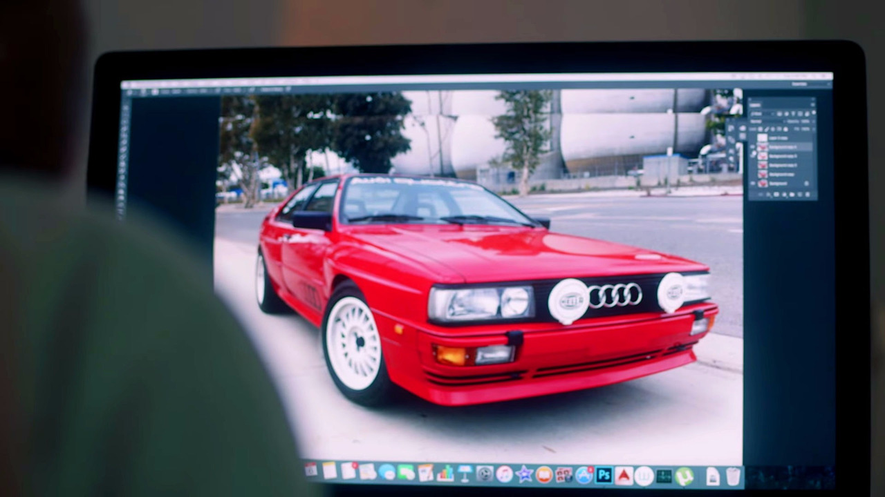 Audi ur-Quattro artwork