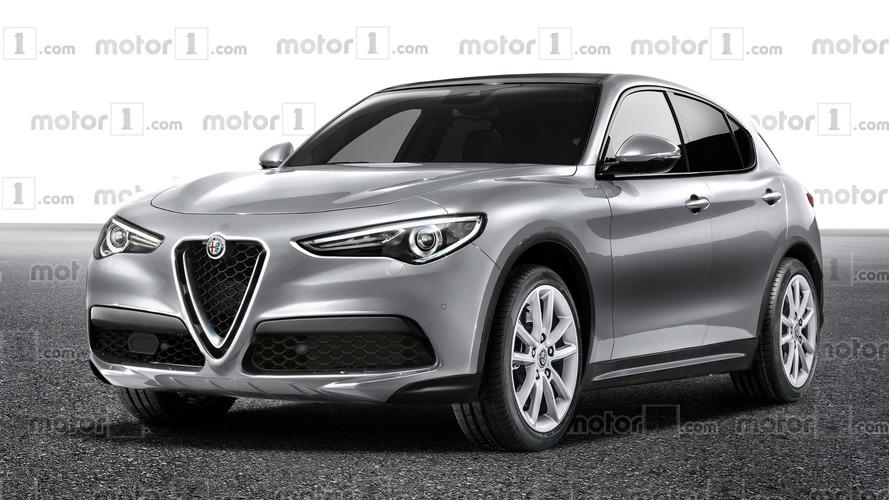 Alfa Romeo Stelvio'nun normal versiyonuna tasarım yorumu yapıldı