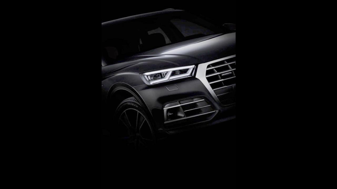 Novo Audi Q5 2017: vídeo-teaser confirma suspensão a ar herdada do Q7