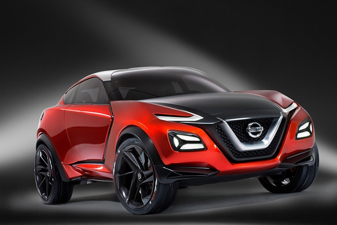 nissan gripz concept signals a sporty crossover hints at future z styling. Black Bedroom Furniture Sets. Home Design Ideas