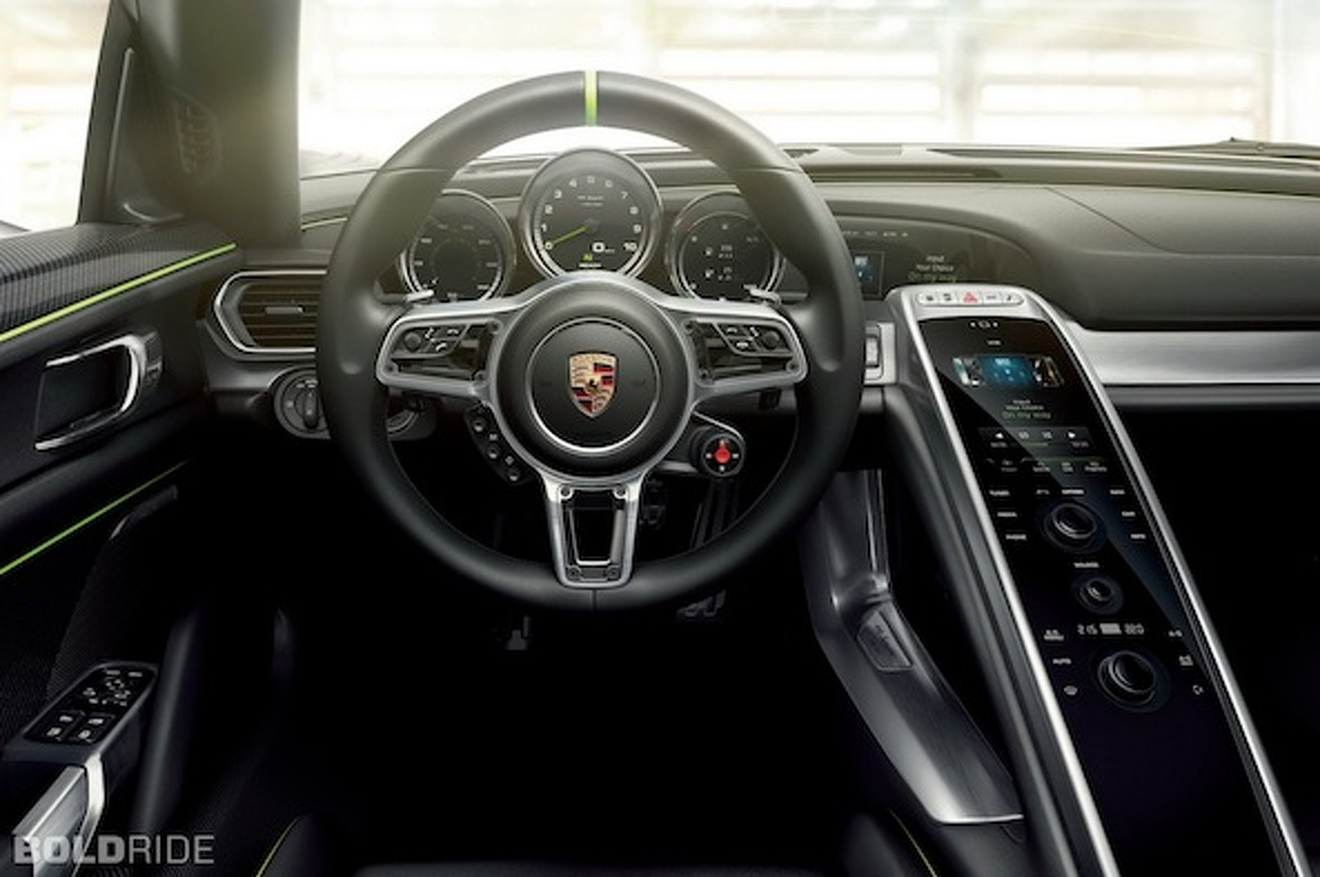 Porsche 918 Spyder Revealed: 887 HP, 78 MPG, $845K