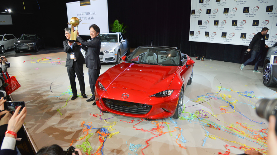 Mazda MX-5 named World Car of the Year