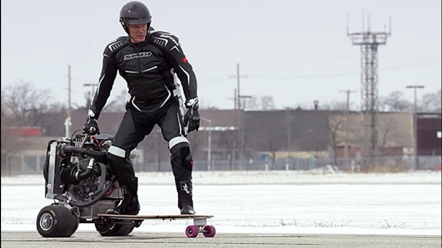 Ford EcoBoost 1.0, ora anche sullo skateboard [VIDEO]