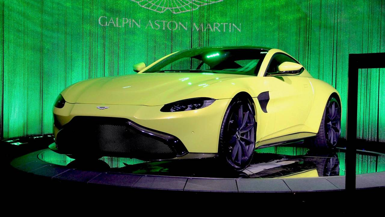 aston martin vantage 2018 side view. 2018 Aston Martin Vantage Side View G