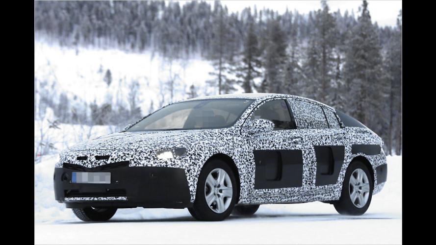 Erwischt: Opel Insignia B und Zafira-Facelift