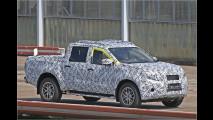 Mercedes-Pick-up als Erlkönig