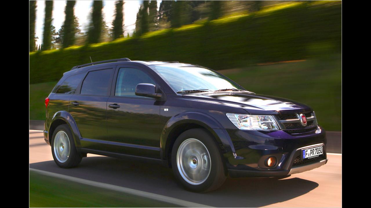 Fiats Topmodell: Der Freemont V6 4x4