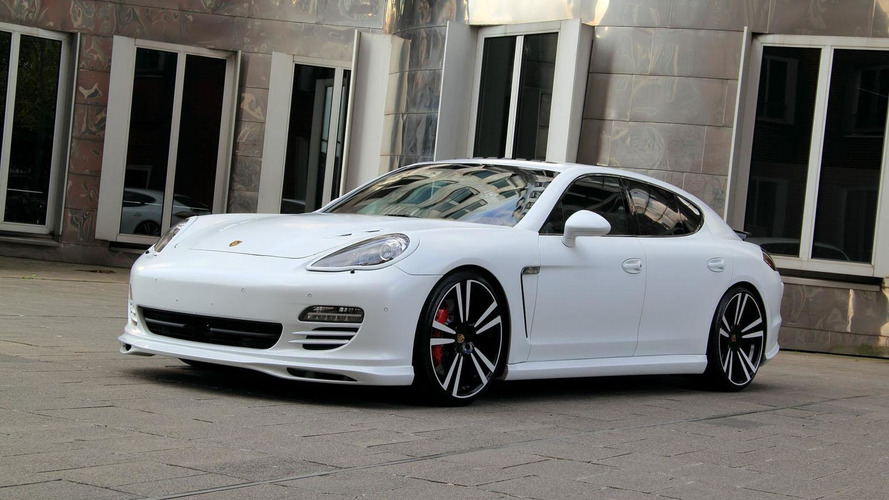 Porsche Panamera White Storm Edition by Anderson Germany
