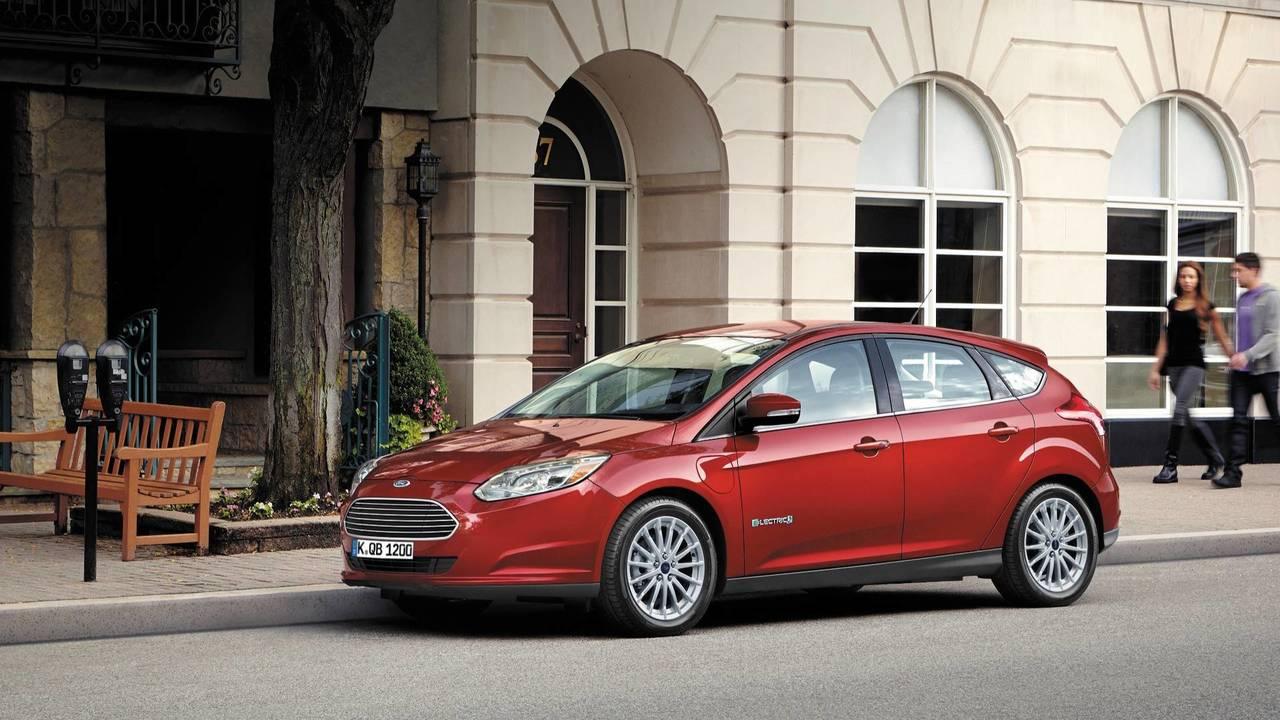 8. Elektrikli Ford Focus
