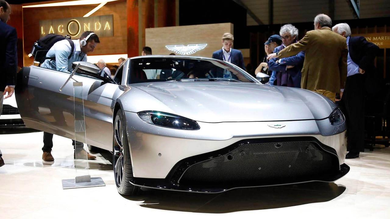 Top (Stefan Leichsenring): Aston Martin Vantage