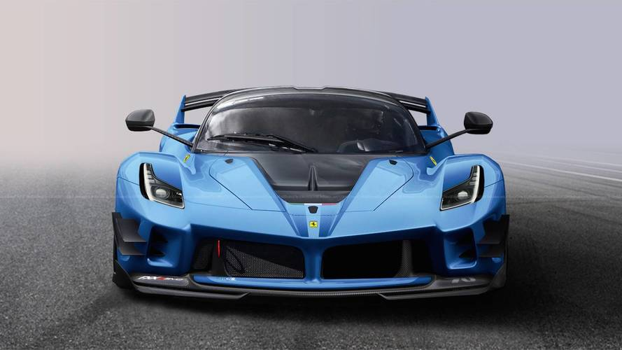 what if ferrari built a street legal fxx k evo. Black Bedroom Furniture Sets. Home Design Ideas