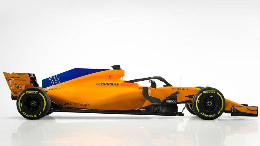 Back to the future: New McLaren F1 car breaks cover