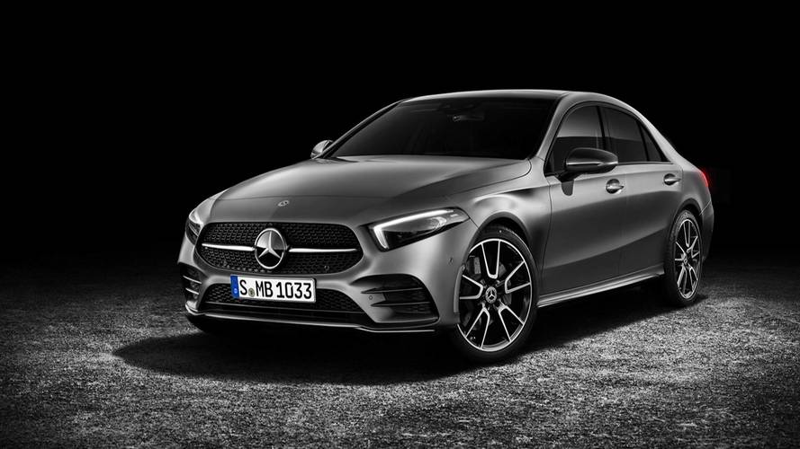 Mercedes A-Class Sedan Could Debut April 25 At Beijing Show