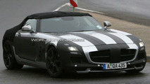 Mercedes-Benz SLS AMG Cabriolet Spy Photos
