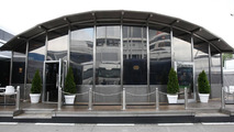 Mercedes hospitality motorhome, Spanish Grand Prix, 06.05.2010 Barcelona, Spain