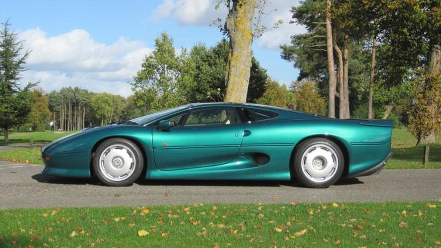 Jaguar XJ220 previously owned by Brunei royal family to be auctioned