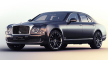 Bentley Mulsanne Speed Blue Train special edition unveiled