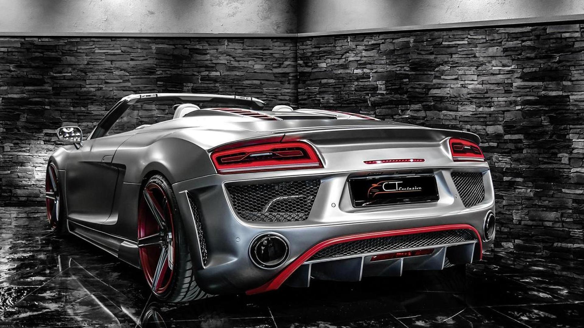 Тюнингованная Audi R8 Spyder от CT Exclusive
