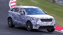 Range Rover Velar SVR 2018 fotos espía