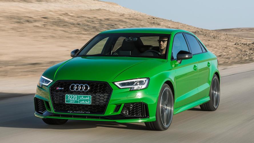 Audi RS 3 2017: primera prueba