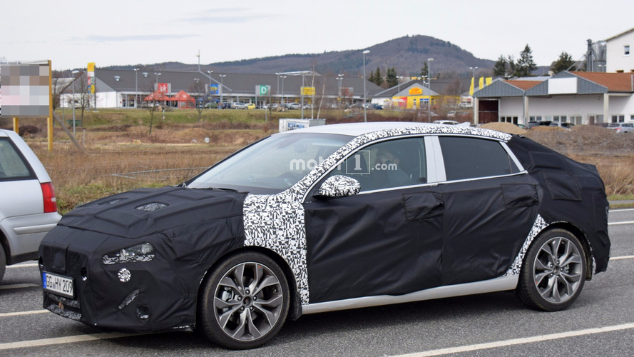Photos espion de la Hyundai i30 Fastback 2018